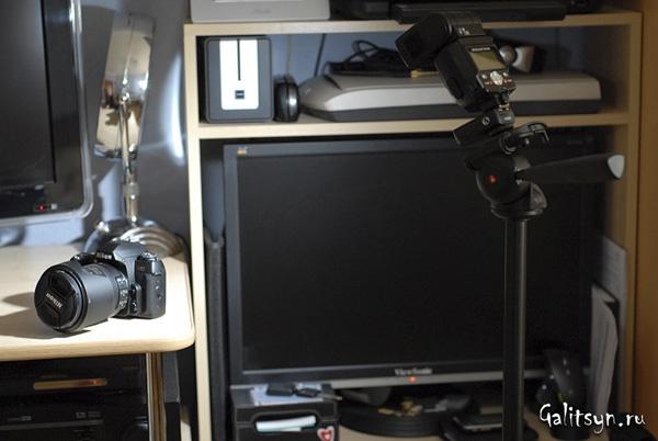 Комплект PIXEL TR-331 Flashgun TTL Trigger в действии